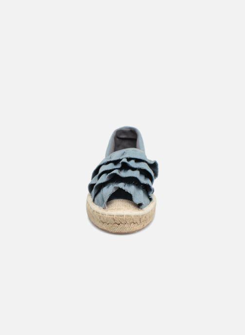 Alpargatas I Love Shoes MCDRILLE Azul vista del modelo