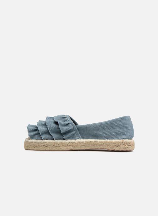 Alpargatas I Love Shoes MCDRILLE Azul vista de frente
