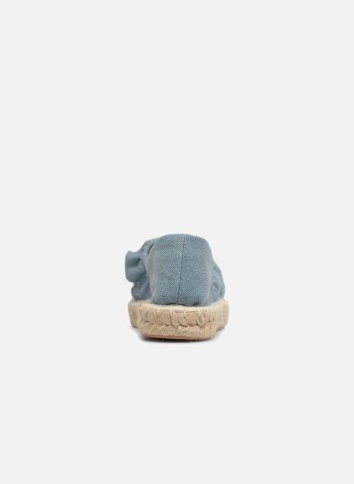 Alpargatas I Love Shoes MCDRILLE Azul vista lateral derecha