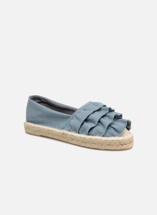 Espadrilles I Love Shoes MCDRILLE Blue detailed view/ Pair view