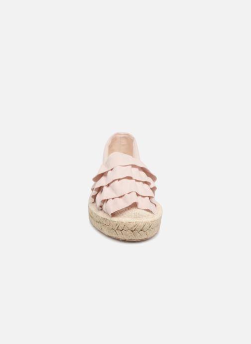 Scarpe di corda I Love Shoes MCDRILLE Rosa modello indossato