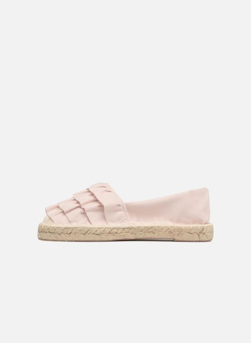 Alpargatas I Love Shoes MCDRILLE Rosa vista de frente