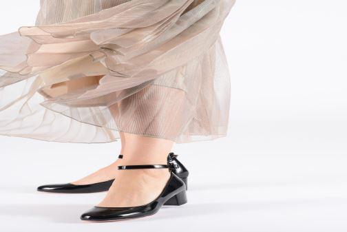 Escarpins I Love Shoes MCBOBY Bleu vue bas / vue portée sac