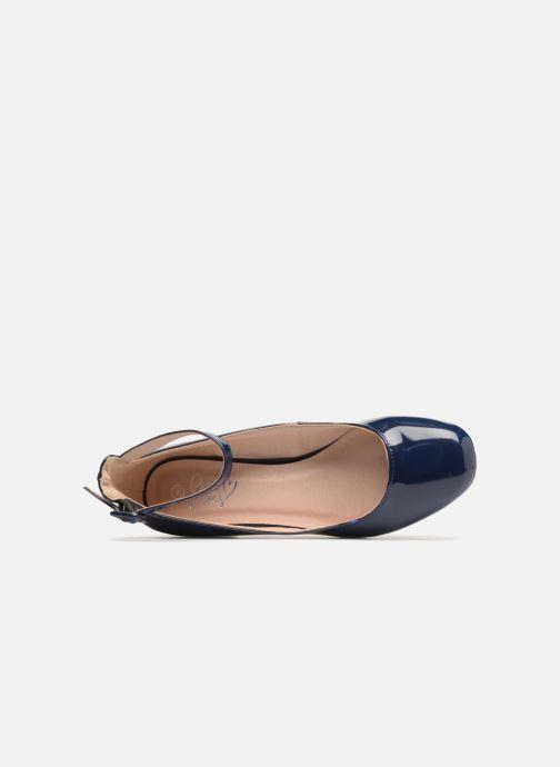 Escarpins I Love Shoes MCBOBY Bleu vue gauche