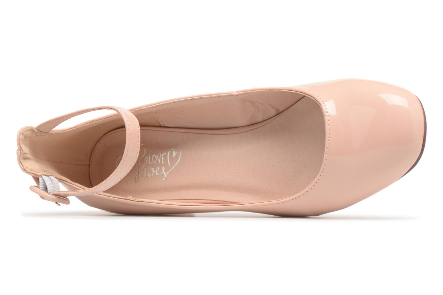 Ballet pumps I Love Shoes MCBOBY Pink view from the left