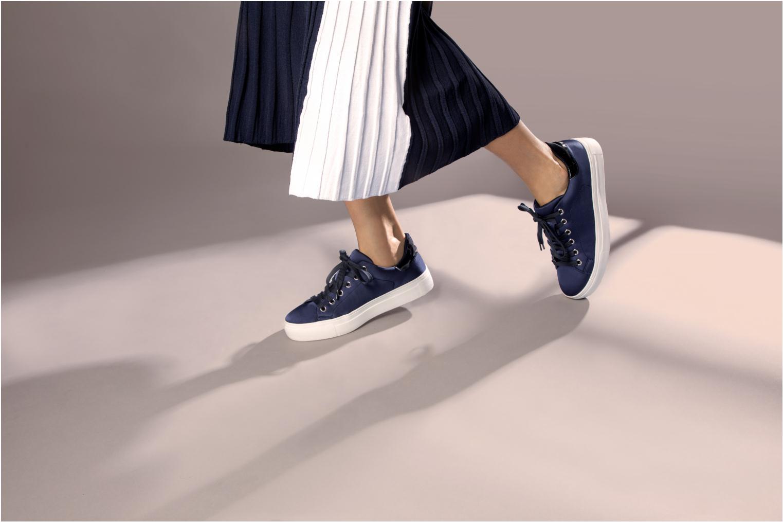 Baskets I Love Shoes MCOLINA Noir vue bas / vue portée sac