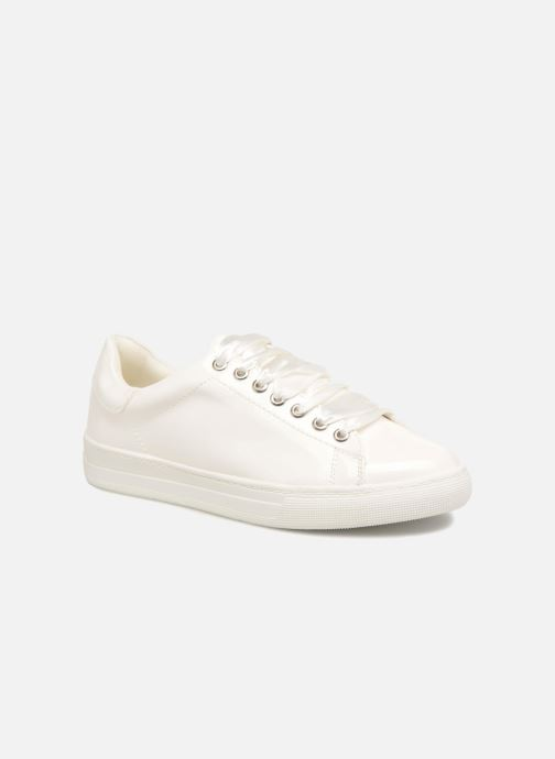 Baskets I Love Shoes MCSATIN Blanc vue détail/paire