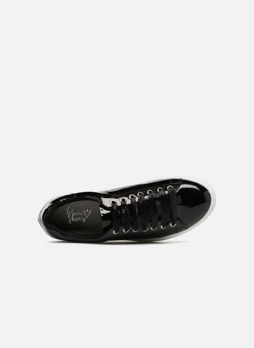 Baskets I Love Shoes MCSATIN Noir vue gauche