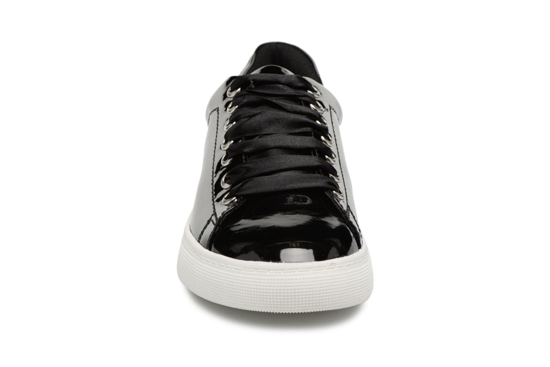 Baskets I Love Shoes MCSATIN Noir vue portées chaussures