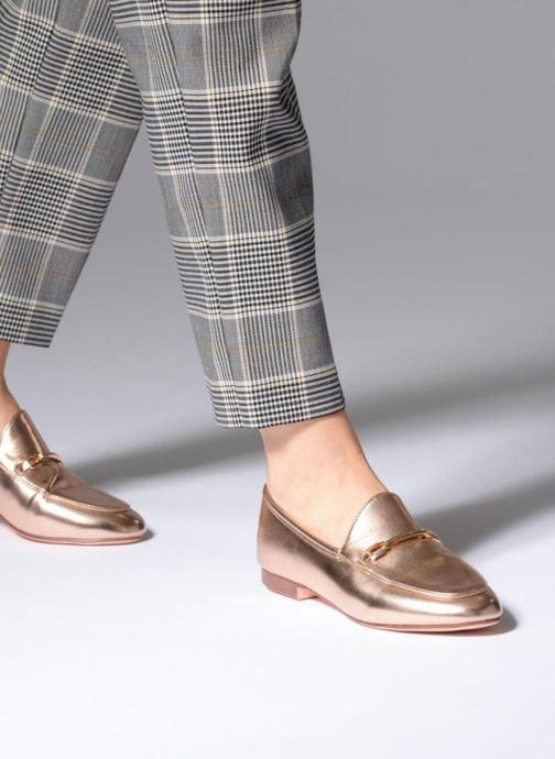 Mocassins I Love Shoes MCMOCA Or et bronze vue bas / vue portée sac