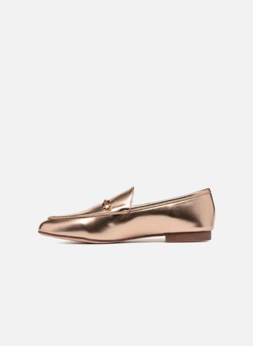 Mocasines I Love Shoes MCMOCA Oro y bronce vista de frente