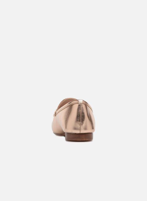 Mocassins I Love Shoes MCMOCA Or et bronze vue droite