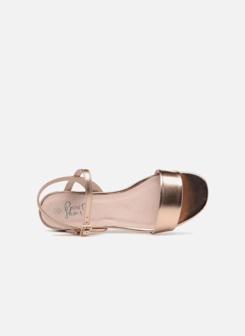 Sandalias I Love Shoes MCANI Rosa vista lateral izquierda