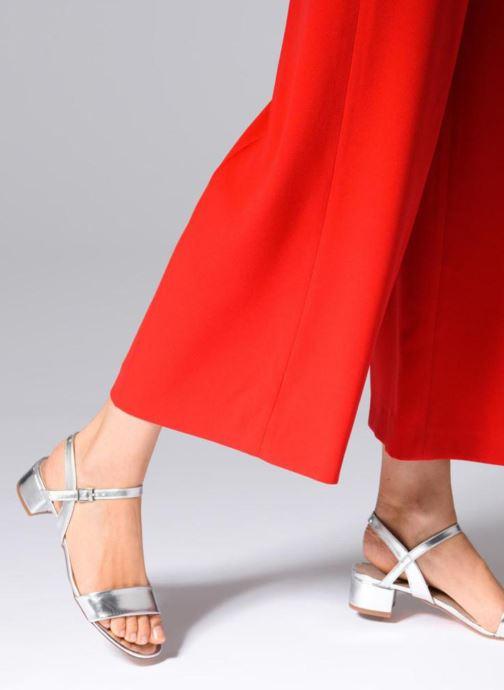 Sandales et nu-pieds I Love Shoes MCANI Argent vue bas / vue portée sac