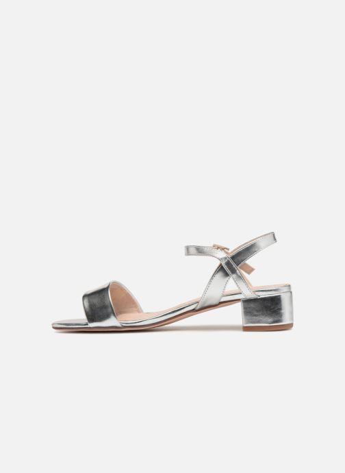 Sandalen I Love Shoes MCANI silber ansicht von vorne