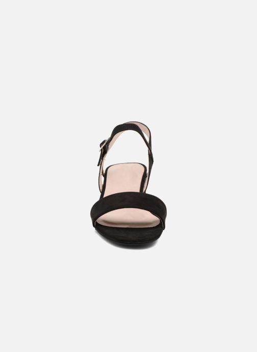 Sandales et nu-pieds I Love Shoes MCANI Noir vue portées chaussures