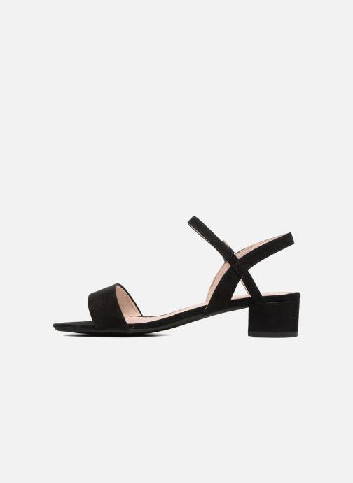 Sandales et nu-pieds I Love Shoes MCANI Noir vue face