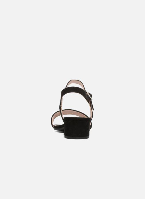 Sandalias I Love Shoes MCANI Negro vista lateral derecha
