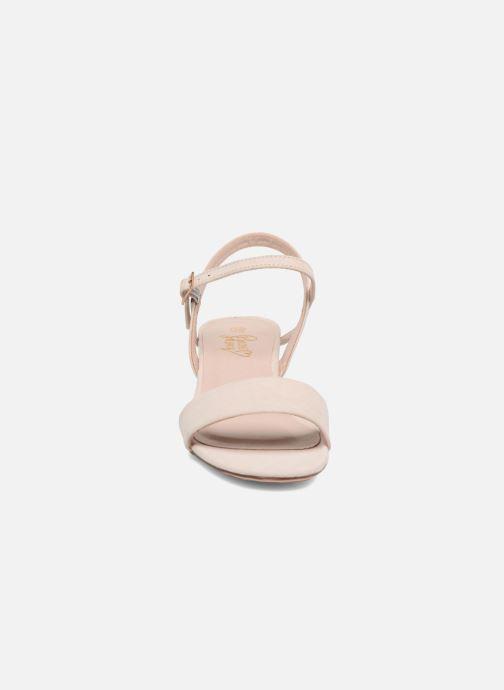 Sandalias I Love Shoes MCANI Rosa vista del modelo