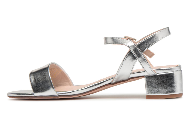 Sandales et nu-pieds I Love Shoes MCANI Argent vue face