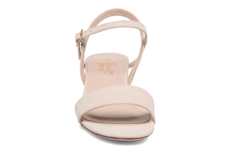 Sandales et nu-pieds I Love Shoes MCANI Rose vue portées chaussures