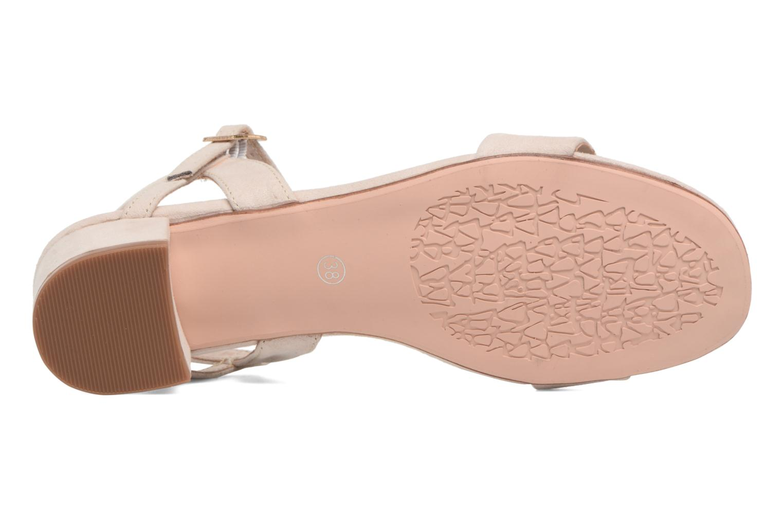 Sandales et nu-pieds I Love Shoes MCANI Rose vue haut