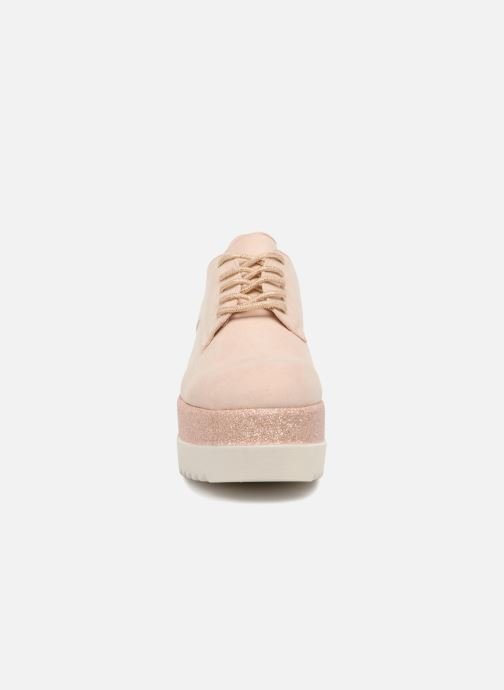 Schnürschuhe I Love Shoes Thasty rosa schuhe getragen