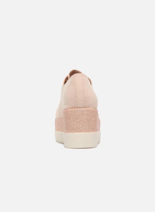 Schnürschuhe I Love Shoes Thasty rosa ansicht von rechts