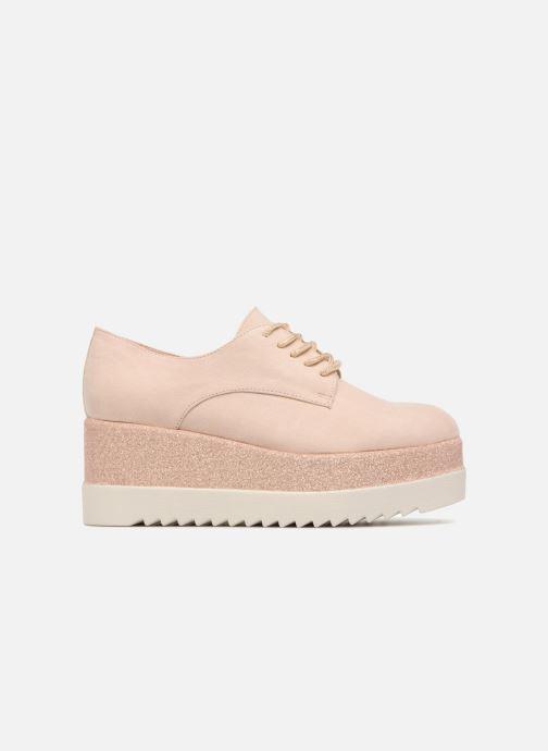 Schnürschuhe I Love Shoes Thasty rosa ansicht von hinten