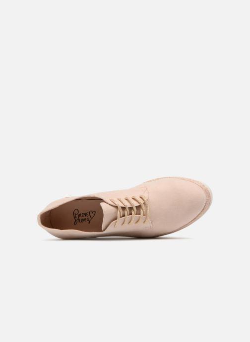 Schnürschuhe I Love Shoes Thasty rosa ansicht von links
