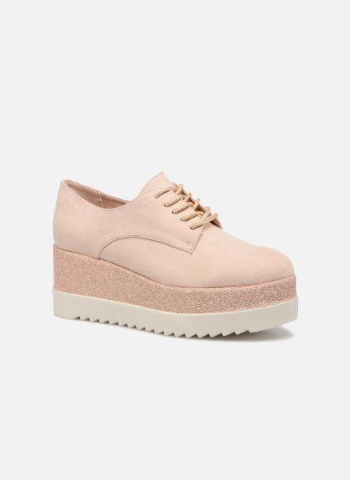 Veterschoenen I Love Shoes Thasty Roze detail