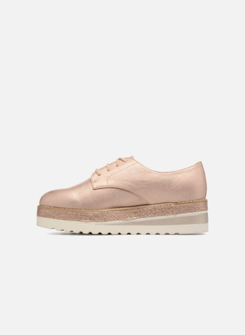 Chaussures à lacets I Love Shoes Thoussey Rose vue face