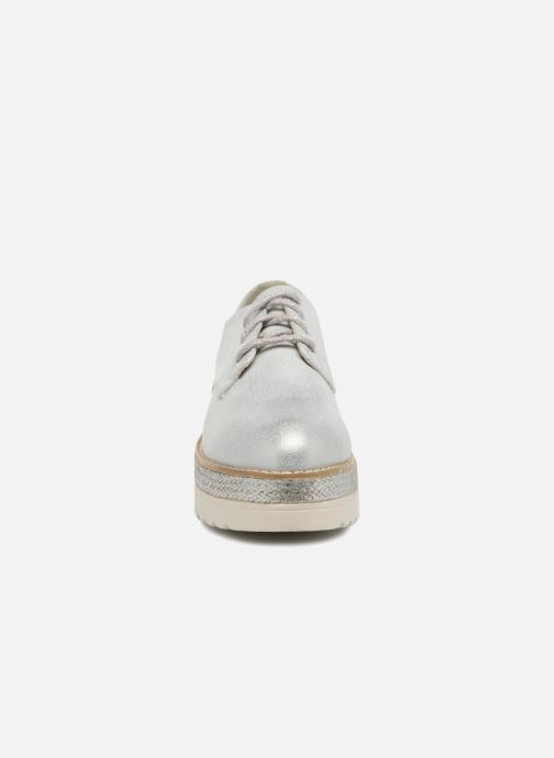 Zapatos con cordones I Love Shoes Thoussey Plateado vista del modelo