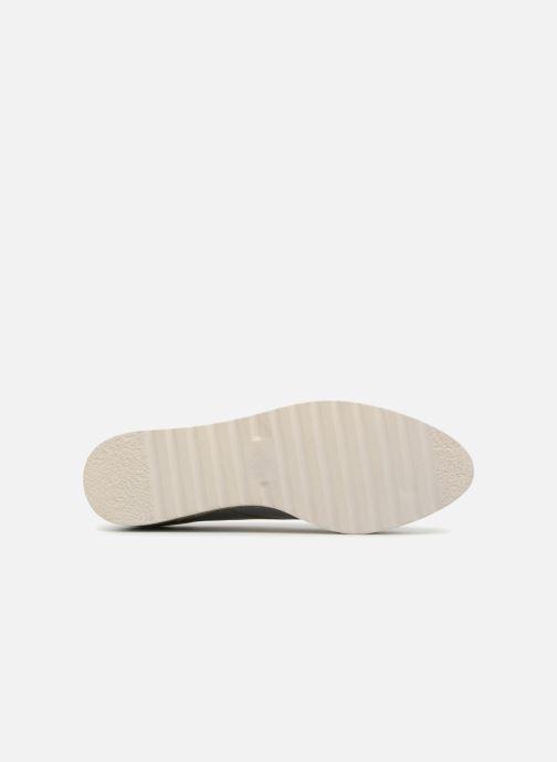 Schnürschuhe I Love Shoes Thoussey silber ansicht von oben