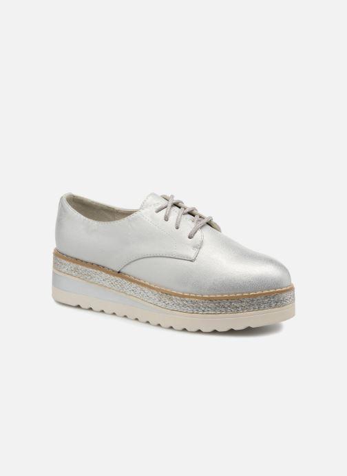 Zapatos con cordones I Love Shoes Thoussey Plateado vista de detalle / par