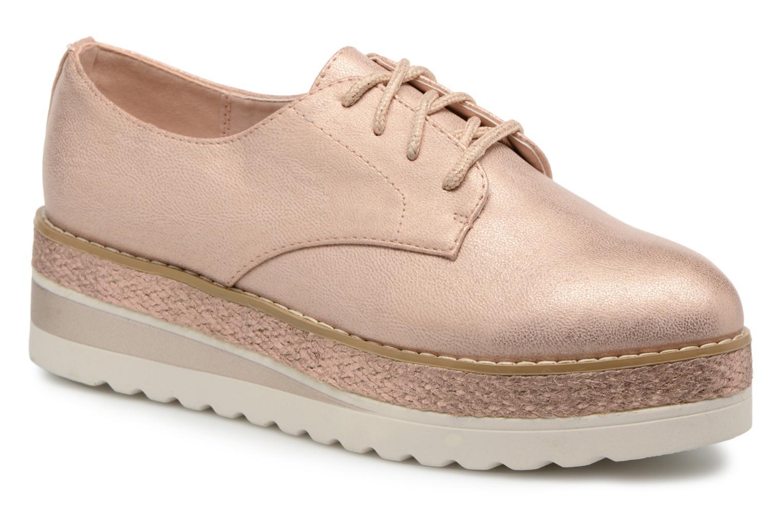 Chaussures à lacets I Love Shoes Thoussey Rose vue détail/paire