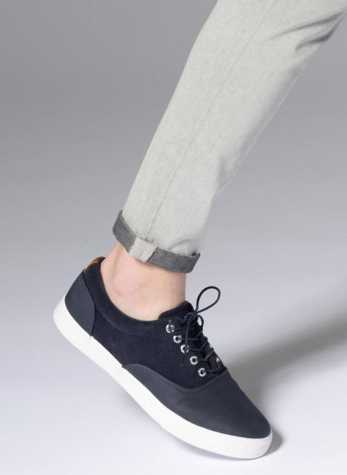 Deportivas I Love Shoes Thomelo Azul vista de abajo