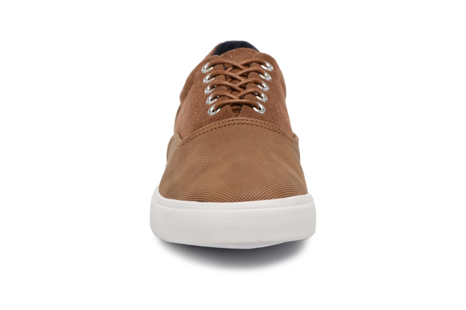 Trainers I Love Shoes Thomelo Brown model view