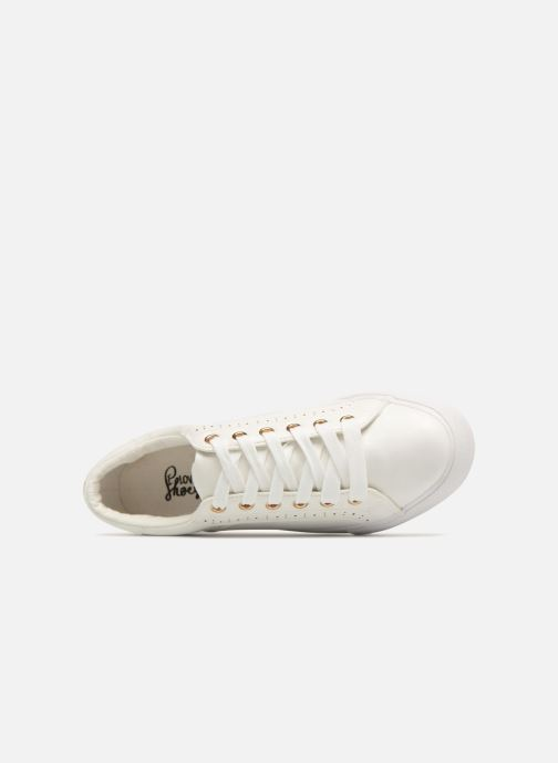Deportivas I Love Shoes Thalinda Blanco vista lateral izquierda