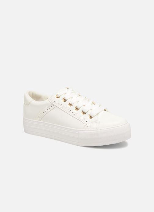 Baskets I Love Shoes Thalinda Blanc vue détail/paire