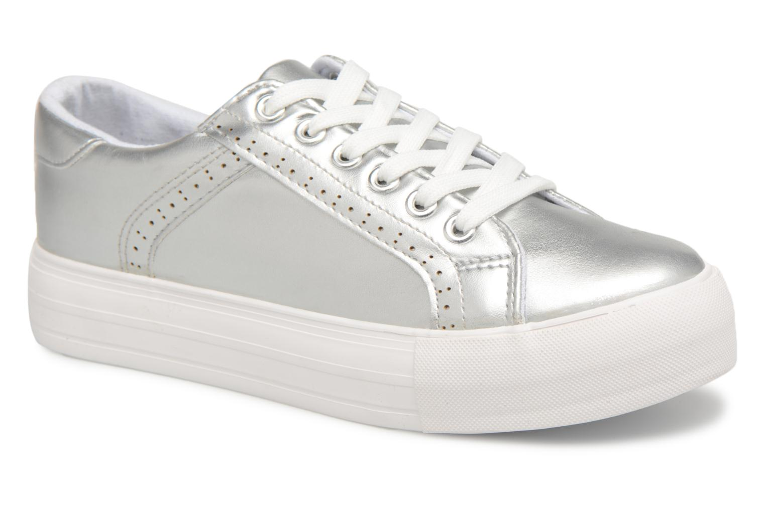 Baskets I Love Shoes Thalinda Argent vue détail/paire