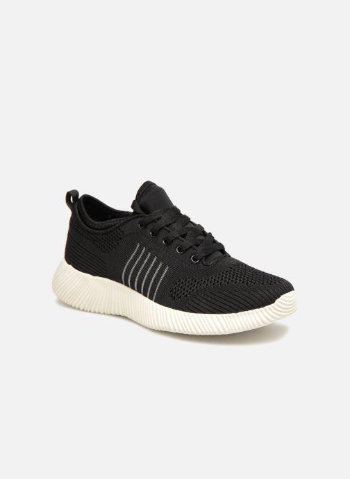 Baskets I Love Shoes Thovani Noir vue détail/paire