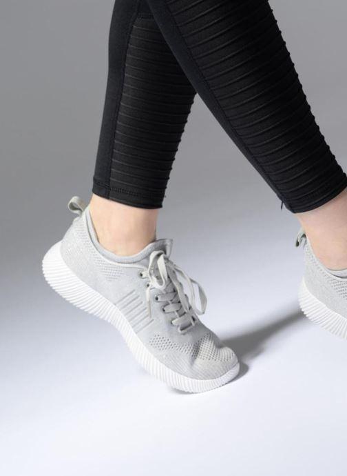 Baskets I Love Shoes Thovani Gris vue bas / vue portée sac