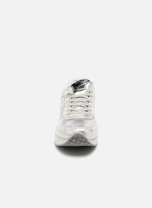Baskets I Love Shoes Thichapi Argent vue portées chaussures