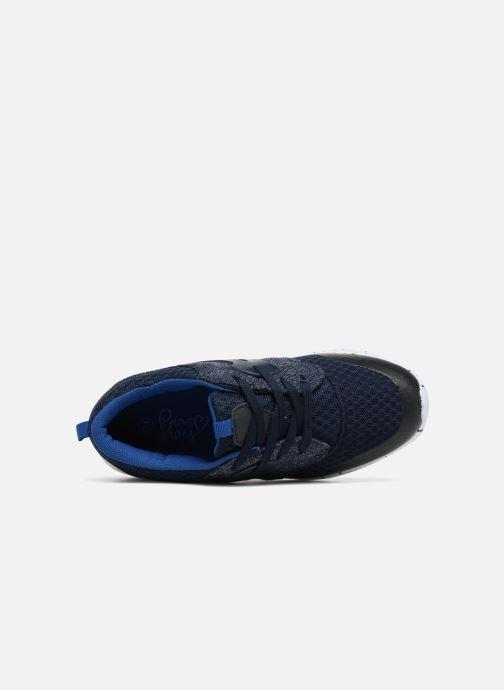 Deportivas I Love Shoes Thiminet Azul vista lateral izquierda