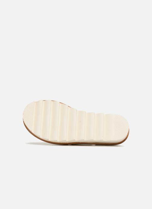 Sandales et nu-pieds MAURICE manufacture Lizan version 3 Or et bronze vue haut
