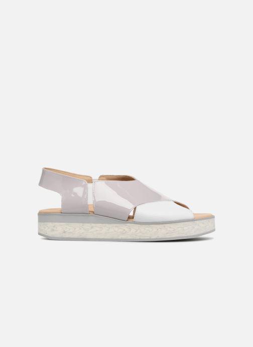 Sandales et nu-pieds MAURICE manufacture Lizia version 1 Gris vue derrière