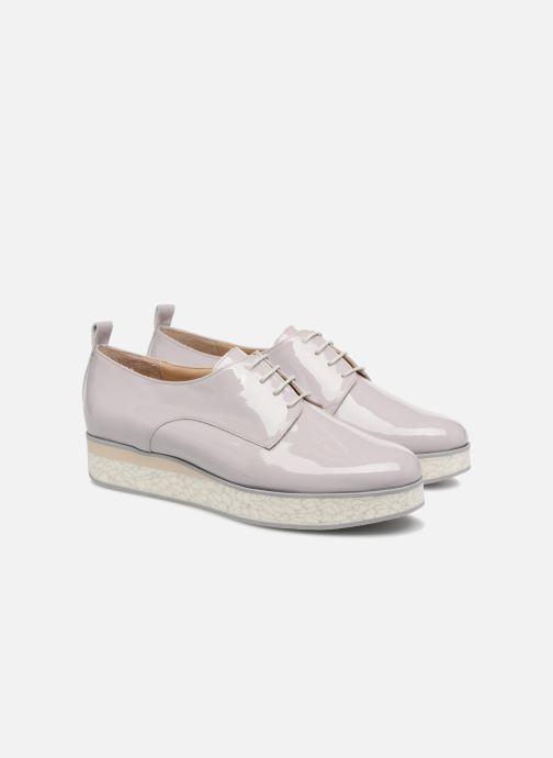 Chaussures à lacets MAURICE manufacture Jay version1 Gris vue 3/4