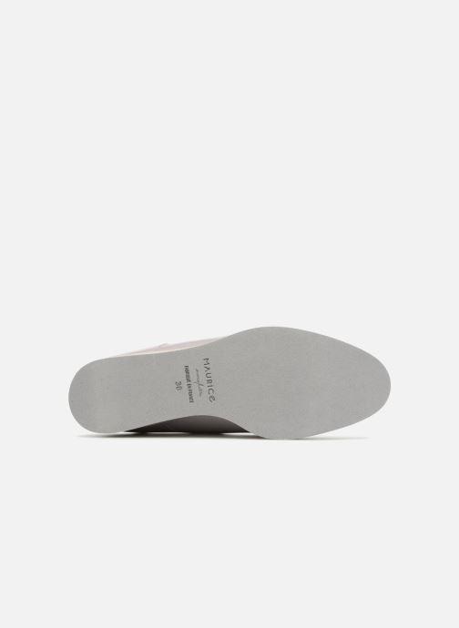 Chaussures à lacets MAURICE manufacture Jay version1 Gris vue haut