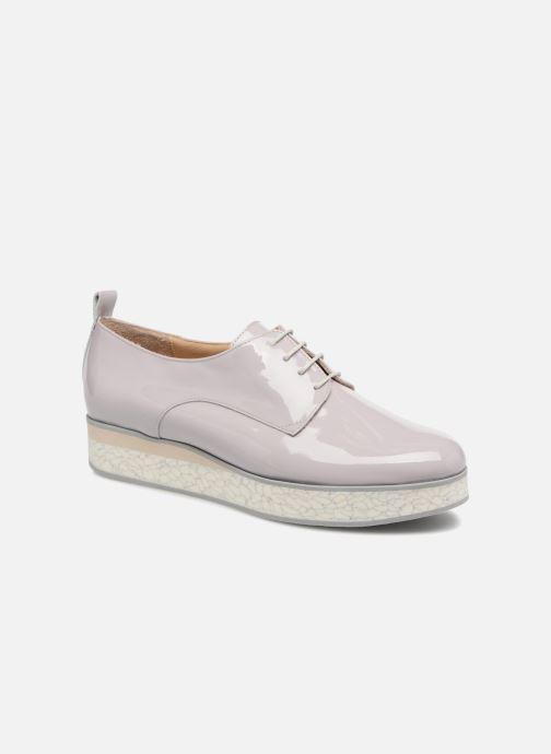 Chaussures à lacets MAURICE manufacture Jay version1 Gris vue détail/paire